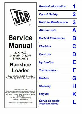 jcb 3cx manual  pdf