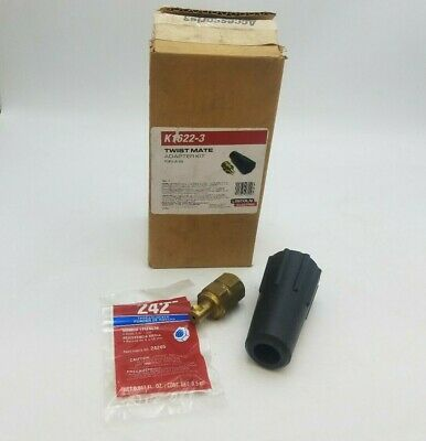 Lincoln Electric Twist-Mate Torch Adapter Welding Soldering Tools