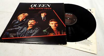 QUEEN (FREDDIE MERCURY) 'Greatest Hits' Vinyl LP With Inner US Issue - G13