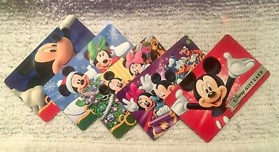 Disney Mickey Minnie Mouse Gift Cards Collectible Only / No Value / You Pick