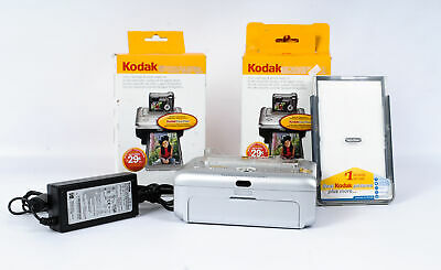 Lot of Kodak Photo Printers Including Color Cartridge & Photo Paper Kit
