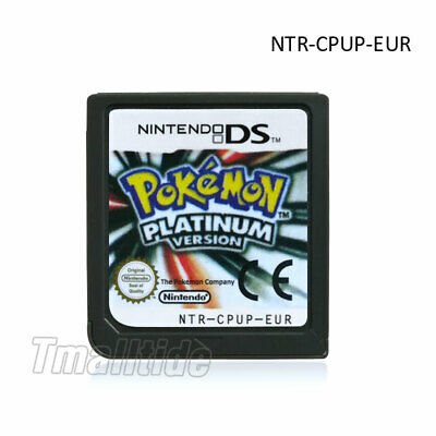 NEW HOT Pokemon Platinum Version Game Card for 3DS NDSI NDS NDSL Lite US Ship