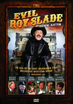 EVIL ROY SLADE New Sealed DVD John Astin Western