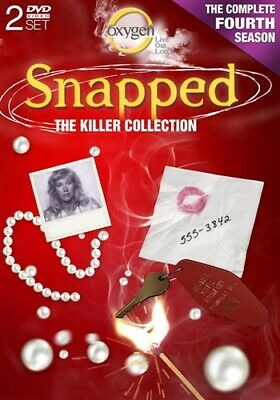 SNAPPED TV SERIES COMPLETE FOURTH SEASON 4 New Sealed DVD The Killer Collection