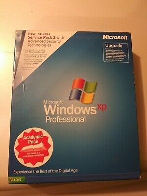 Microsoft Windows XP Professional Upgrade v. 2002 Retail Includes Service Pack 2