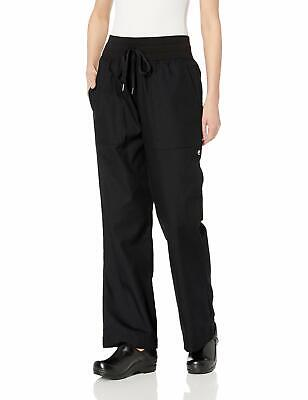 Chef Works Women's Pants Black Size Large L Drawstring Comfi Chef $56 #536