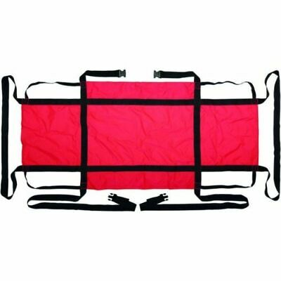 😷 EVACUATION SHEET IN RED / SIZE 185 X 85 cm BRAND NEW RRP £49.95 💥OURS £19.95