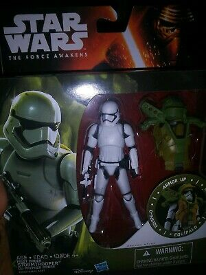 Star Wars The Force Awakens 3.75-Inch Figure Forest Mission Armor First Order