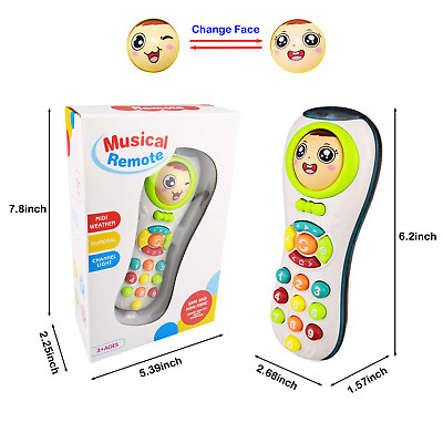Toy Remote Control 12 Month Baby, Toys for 1-2 Year Old Baby Gift for 3-9 Months