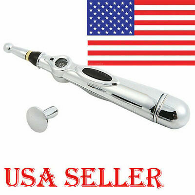 USA Electric Acupuncture Magnet Therapy Heal Massage Pen Meridian Energy Pen