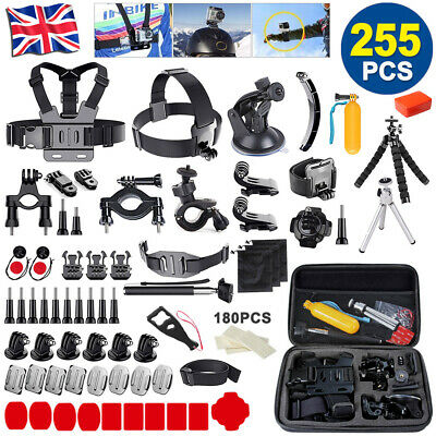 255PCS For GoPro Hero 7 6 5 Accessories Set Action Camera Mount Accessory Bundle