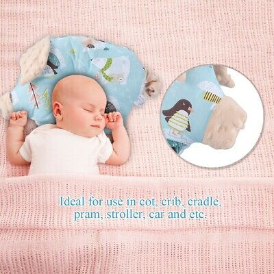 Comfortable  Baby Sleep Support Pillow Infant Protection Prevent Flat Head Anti