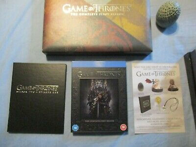 Game Of Thrones - Blu-Ray Season 1 Collectors Dragon Egg Paperweight Box Set