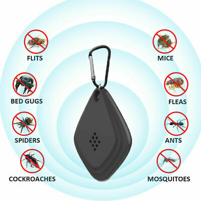 Anti Mosquito Repellent Outdoor Ultrasonic Electronic Control USB Pest Repeller