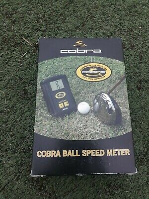 SALE: New Cobra Ball Speed Meter (Radar) by Zelocity with the rubber boot