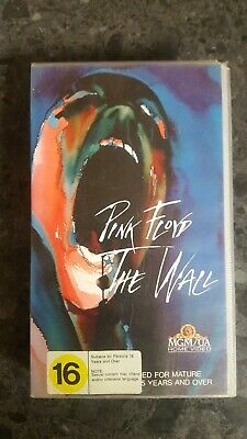 Pink Floyd The Wall Rock Concert Music Video VHS good condition