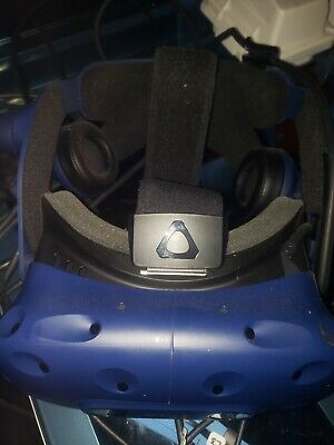 HTC VIVE Pro Virtual Reality VR Headset and Link box with lens mod done