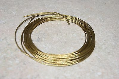15 Ft Brass Cable For Tall Clocks  1/16 New Wall Clock Part