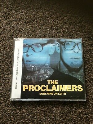 The Proclaimers Sunshine On Leith Rare 1988 Cd Single Clamcd 3