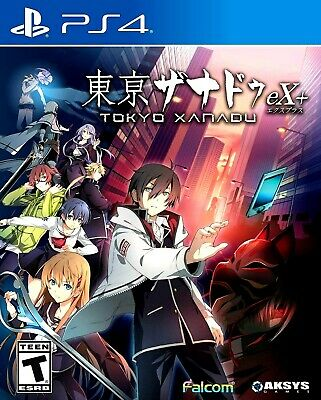 PS4 Tokyo Xanadu eX+ (Sony PlayStation 4 | Anime Action, RPG) NEW
