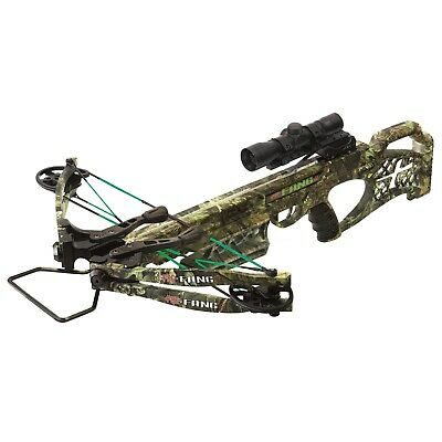@NEW@ 2019 PSE FANG LT Crossbow Package w/ Scope, Bolts, & MORE! 01320CY