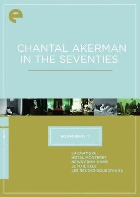 CHANTAL AKERMAN IN THE SEVENTIES Criterion Collection Eclipse Series 19 BOX DVD