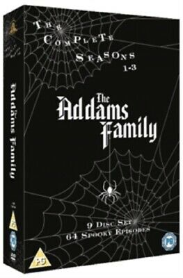 The Addams Family Series 1 2 3 Season 3 2 1 One Two Three New Region 2 DVD