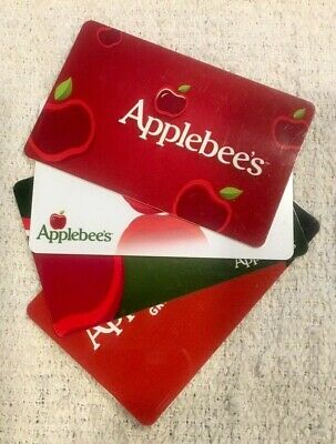Applebee's Grill Bar Restaurant Gift Cards - Collectible Only - Your Choice!