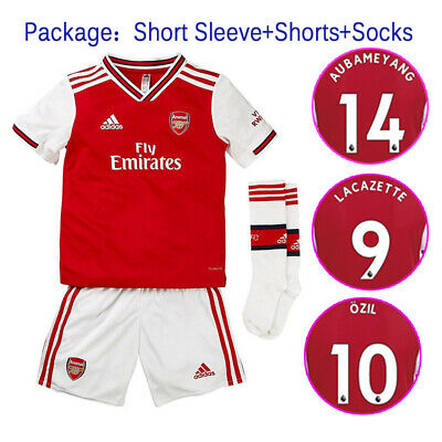 AUS 19/20 Soccer Suits Arsenal Football KIts Soccer Suits For Kids Adults SML