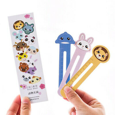30pcs/lot Cute Paper Bookmark Fashion Cartoon Style Book Marks For Kid Supplies