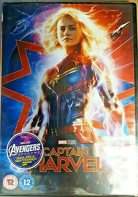 Captain Marvel Brand New & Sealed Region 2 Fast & Free Delivery