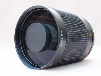 ULTRA COMPACT 500mm MIRROR LENS FITS PENTAX K, CANON EOS, EF, DIGITAL - SUPERB!