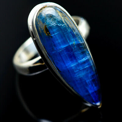 Large Kyanite 925 Sterling Silver Ring Size 8.25 Ana Co Jewelry R962465F
