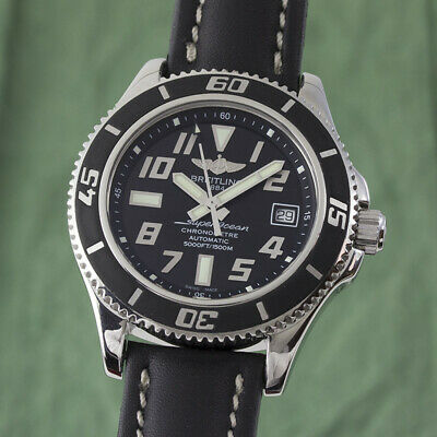 Breitling Superocean 42 Chronometer Automatic Steel Men's Watch A17364 Np