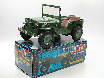 ITES Tin Plate Friction Drive - Willys Jeep MB - Blech Friktionsantrieb ca. 1:20