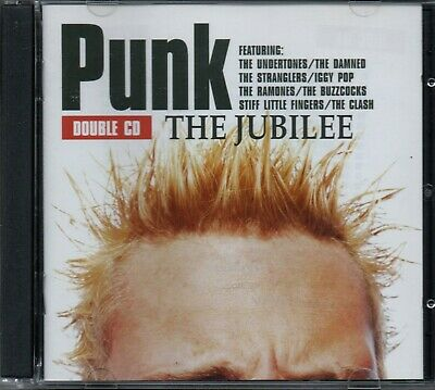 PUNK: THE JUBILEE - Various Artists - 2xCD Album