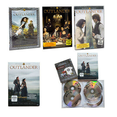 Outlander Season 1-4 DVD Box Set TV Series Complete Collection 1,2,3,4 New Gift