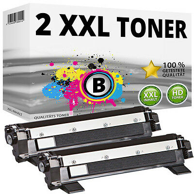 2x XXL Toner Compatibile Brother TN1050 DCP1510 DCP1512 DCP1610W DCP1612 HL-1110