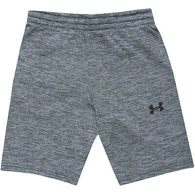 Under Armour UA Boys Armour Fleece Active Joggers Sweat Pants Shorts - Grey