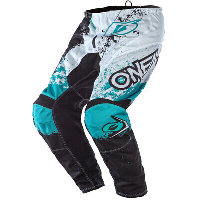 Oneal Element Impact Black Teal Pants
