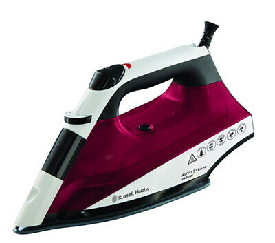 Russell Hobbs 22520 Auto Steam Pro Non Stick Soleplate Iron 2400W