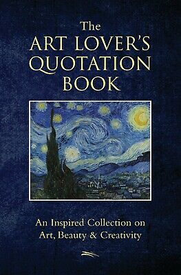 The Art Lovers Quotation Book by Jo Brielyn 2018 BRAND NEW