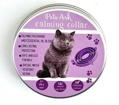 Calming collar for Cats with pheromone technology (like feliway)
