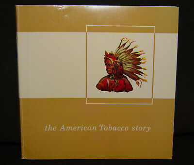 """1964 American Tobacco Co. """"THE AMERICAN TOBACCO STORY"""" 64 page illustrated book"""