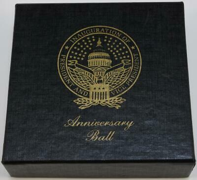 Ronald Reagan Presidential Seal Inauguration Anniversary Ball Coaster Jan. 1986
