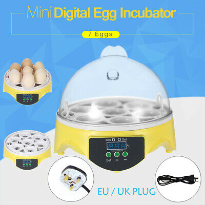 7 Digital Egg Incubator Temperature Control Automatic Turning/Chicken Hatcher