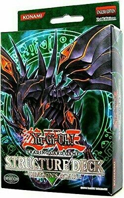 Yu-gi-oh English Version 1st Edition Structure Deck - Dragon's Roar. COMPLET.