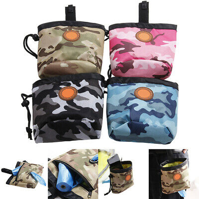 Pet Dog Puppy Training Treat Snack Bait Obedience Pouch Food Bag Pocket Fine