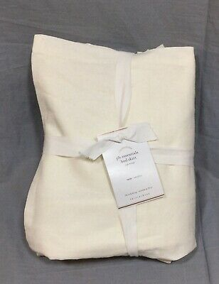 S//2 Pottery Barn pb essentials Ivory King Pillowcases 300 Thread NWT
