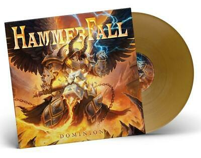 HAMMERFALL - Dominion (2019 Gold Vinyl Limited to 400 Gatefold copies 180g) LP